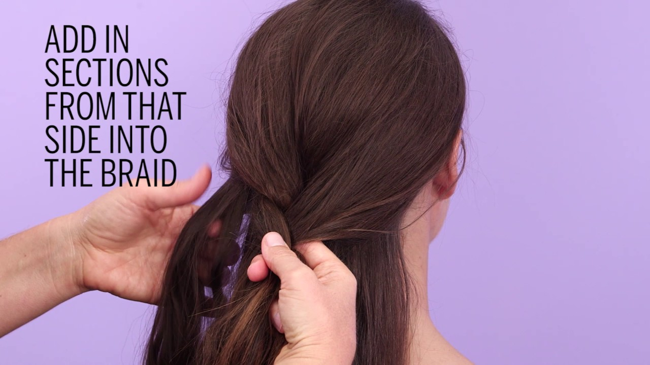 How To French Braid Your Own Hair In 6 Easy Steps