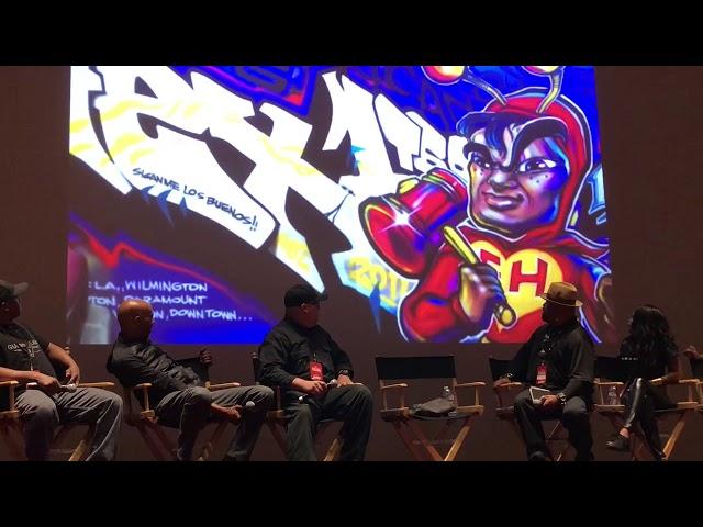 HEX INTERVIEW - LA TIMES / USC FESTIVAL OF BOOKS ( UNIVERSAL HIP HOP MUSEUM)