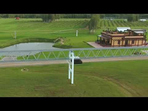 Юнибайк на ферменно пътната структура на  SkyWay