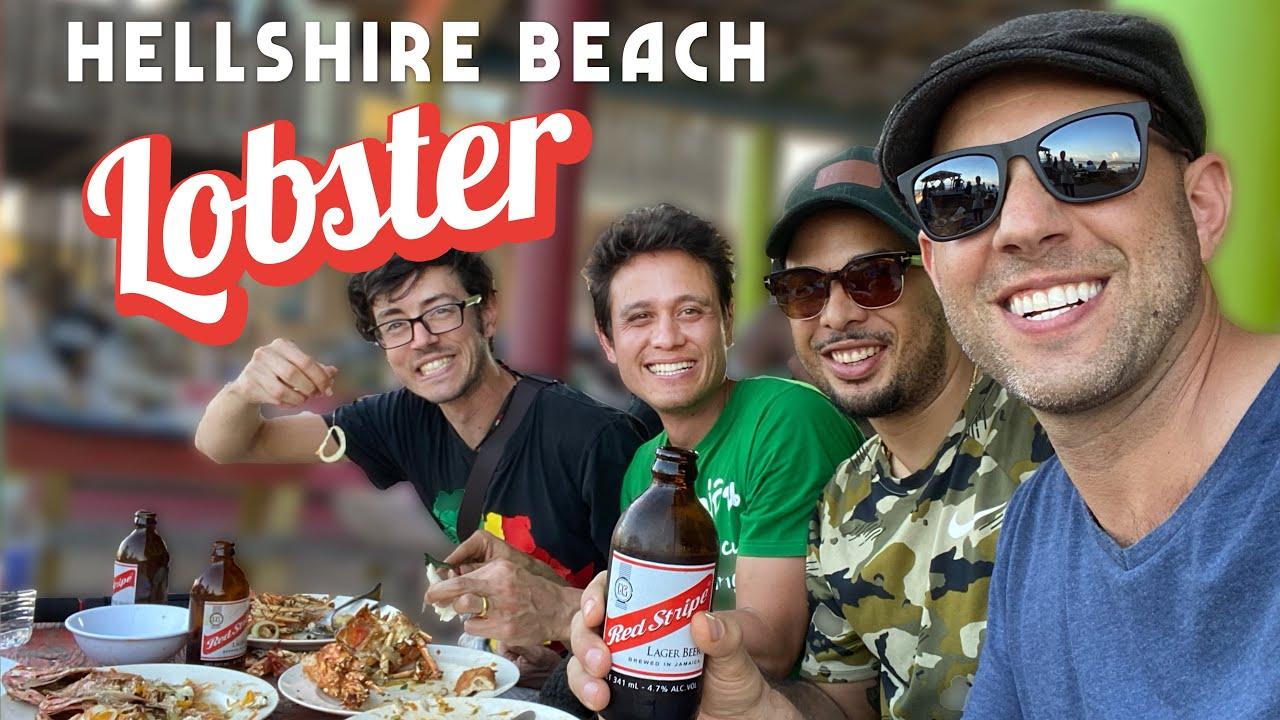 Hellshire Beach Lobster FEAST ?with @Mark Wiens ??!