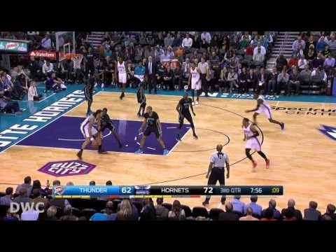 Michael Kidd-Gilchrist Defense On Russel Westbrook, January 4, 2017
