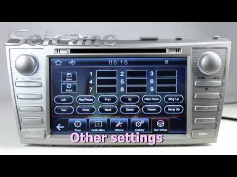 2008 2011 Toyota Camry Original Radio Upgrade To