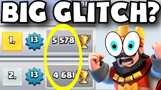 IS HE CHEATING? Clash Royale TROPHY RESET BUG / GLITCH + NEW UNDEFEATED DECK STRATEGY GAMEPLAY