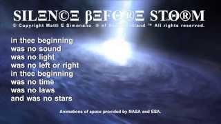 Silence / Calm Before Storm [Including Lyrics]