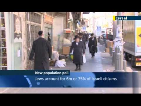 Israeli Population Tops Eight Million: Holy Land's Population Up 1.8% Over Past 12 Months