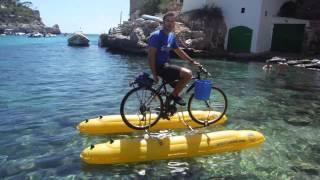 Ice Bucket Challenge Catamaran Bikes