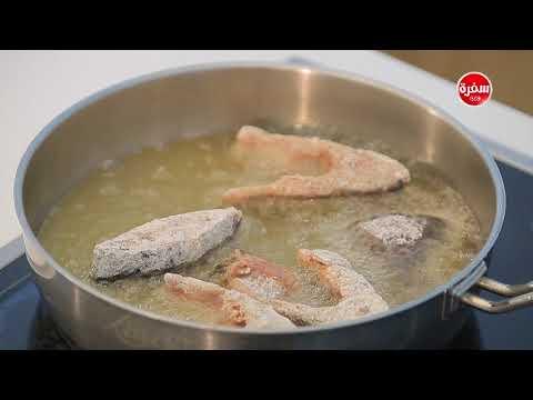 سمك بلطي مقلي - شوربة سي فوود بالبطاطس : شبكة وصنارة (حلقة كاملة)