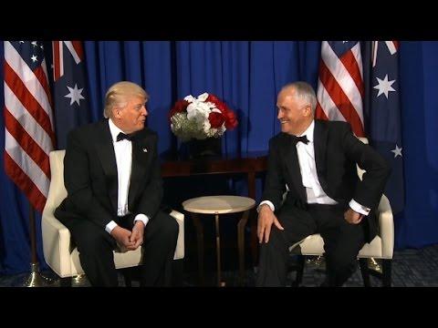 Trump praises Australian universal health care