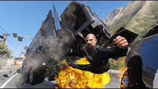 GTA 5 INSANE CLOSE UP GARBAGE TRUCK CRASHES - IMPACT COMPILATION #9
