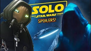 Prequel References in Solo: A Star Wars Story!
