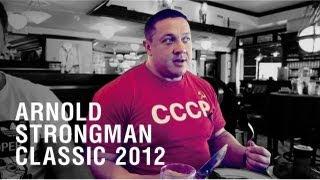 Михаил Кокляев - Misha Koklyaev - Arnold Strongman Classic 2012. LIVE.