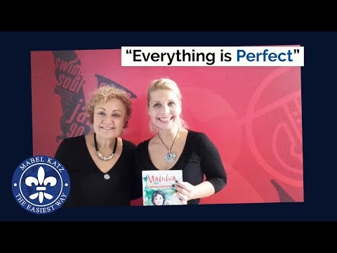 """Everything is perfect"" · Mabel Katz with Dr. Jazzy on Jazzy Radio · Budapest, November 2017"