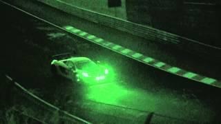 Nürburgring 24h 2014 McLaren Slow Motion Nightvision