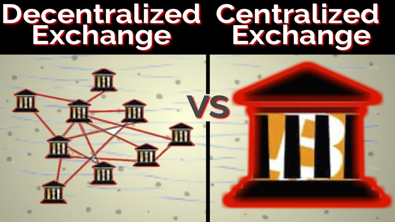 centralized vs decentralized cryptocurrency exchange