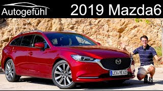 Mazda6 FULL REVIEW Facelift 2019 2018 test Mazda 6 saloon vs tourer comparison - Autogefühl