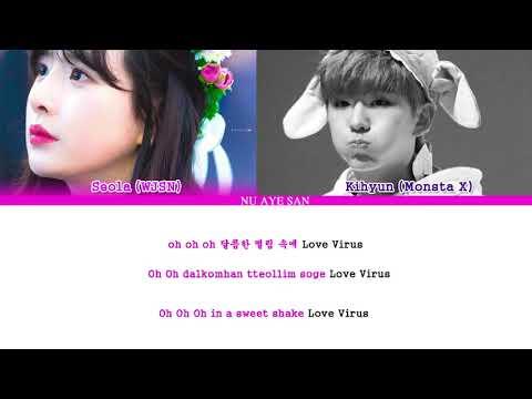 "Kihyun (Monsta X) & SeolA (WJSN) – ""Love Virus"" (What's Wrong With Secretary Kim )(Ham/Rom/Eng)"