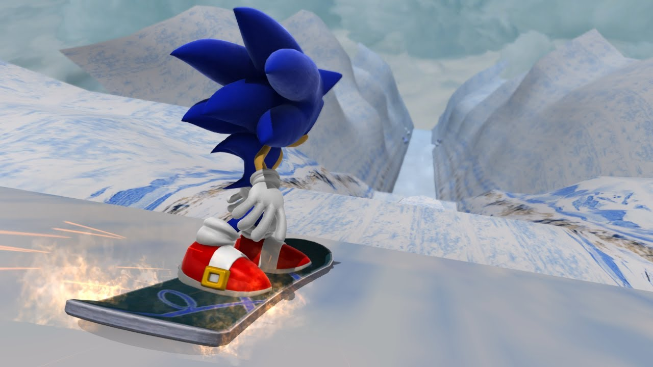 Sonic Generations: Ice Cap Zone