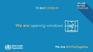 We Are #InThisTogether – Staying safe protects you and others from COVID-19