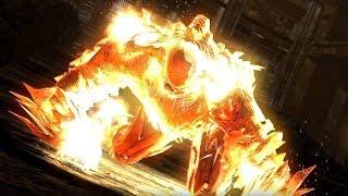 Demon's Souls - Flamelurker Boss Fight (4k 60fps)