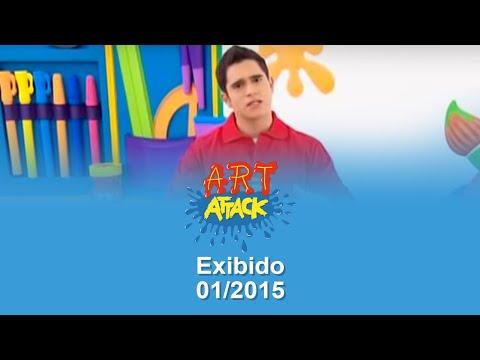 Art Attack Efeito Brilho Nos Desenhos Completo Youtube