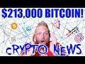Crypto News - 213K BITCOIN - EMUSIC ICO