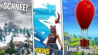 Fortnite News | Season 7 Leaks, Schnee Map, Skins, Snowboards, Ziplines & Mehr