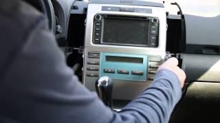 Corolla Verso 2.2 D4D Demontaż konsoli środkowej/Removing center console