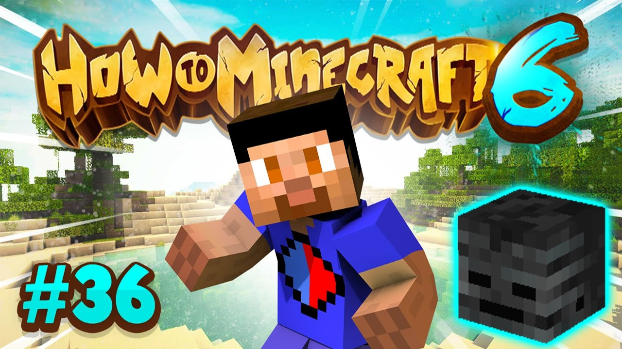 GOLD MINING & WITHER SKULL HUNTING! - How To Minecraft #36 (Season 6) thumbnail