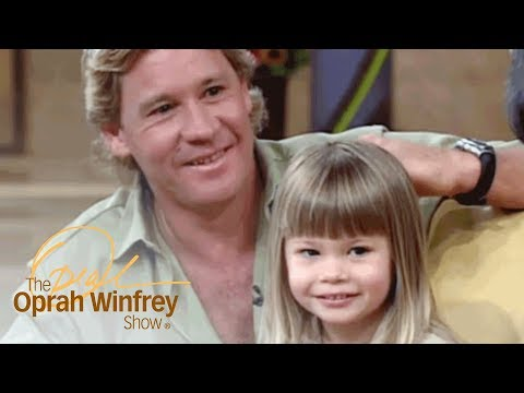 Steve Irwin's Daughter Brings Her Baby Python on 'The Oprah '  The Oprah Winfrey   OWN