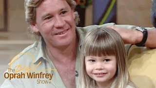 Gambar cover Steve Irwin's Daughter Brings Her Baby Python on 'The Oprah Show' | The Oprah Winfrey Show | OWN