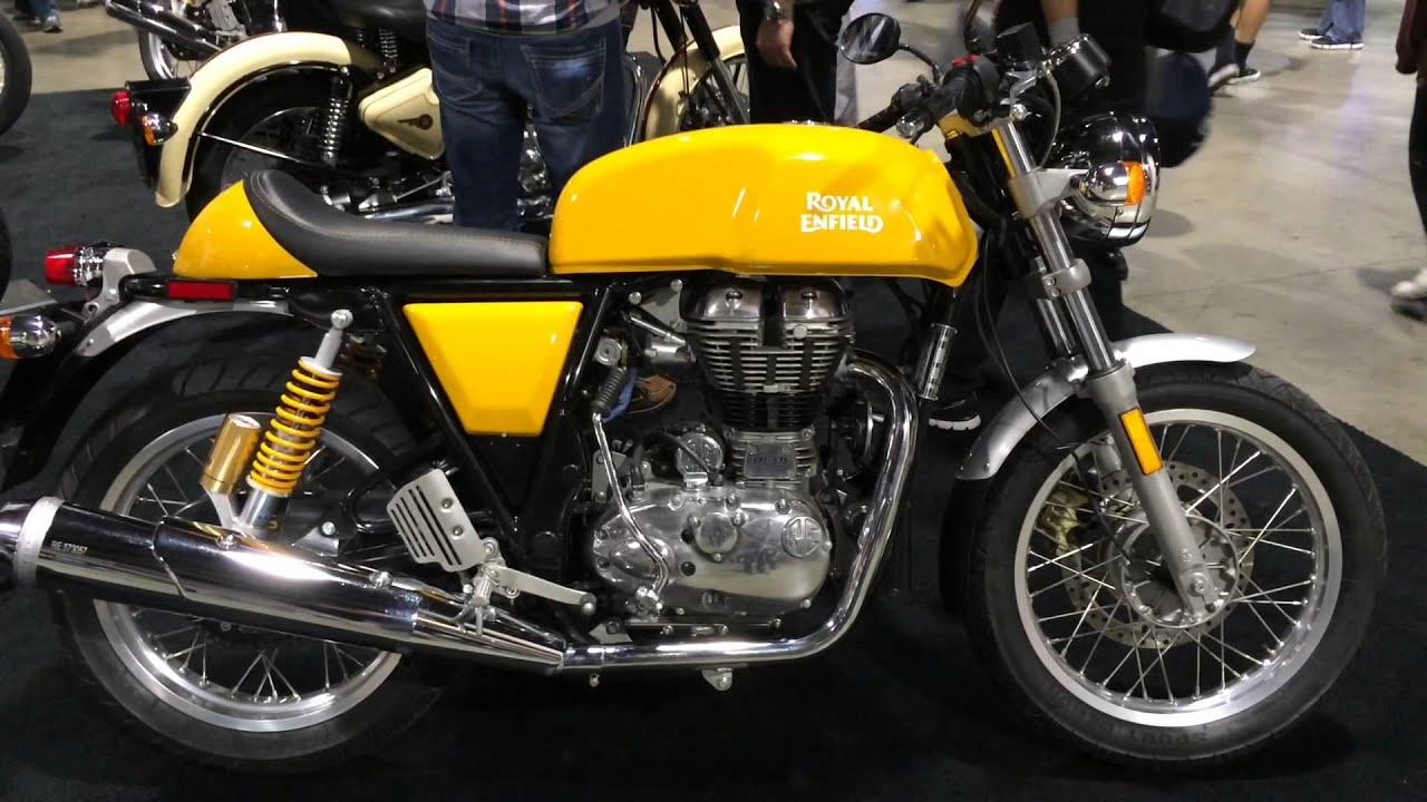2015 Royal Enfield Motorcycles - YouTube