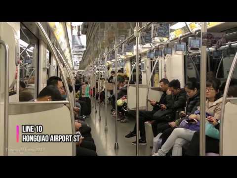 Shanghai Metro -CNR CSR ALSTOM Trains- 上海地铁