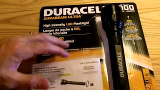 Duracell Durabeam Ultra-1000 Lumen Flashlight