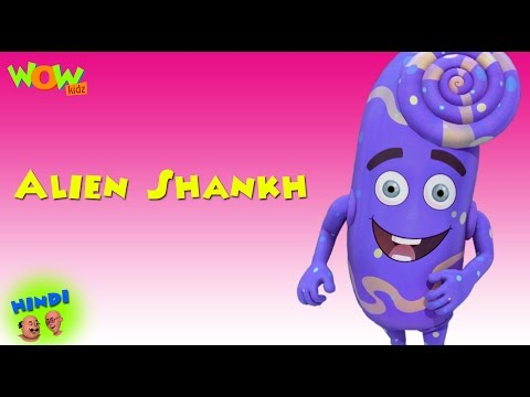 Alien Shankh - Motu Patlu in Hindi WITH ENGLISH, SPANISH & FRENCH SUBTITLES thumbnail