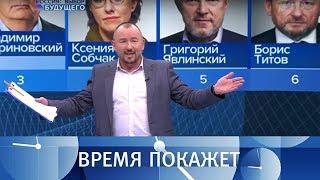Информационный канал «Россия: выбор будущего». Обсуждение итогов президентских выборов 2018 года.