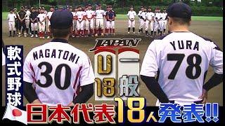 運命の日本代表メンバー発表!2017軟式野球国際大会・U-18/一般 SWBC JAPAN thumbnail