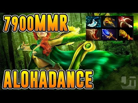 ALOHADANCE Dota 2 [Windranger] 1 Neft Is Not Enough - 7900 MMR Gameplay