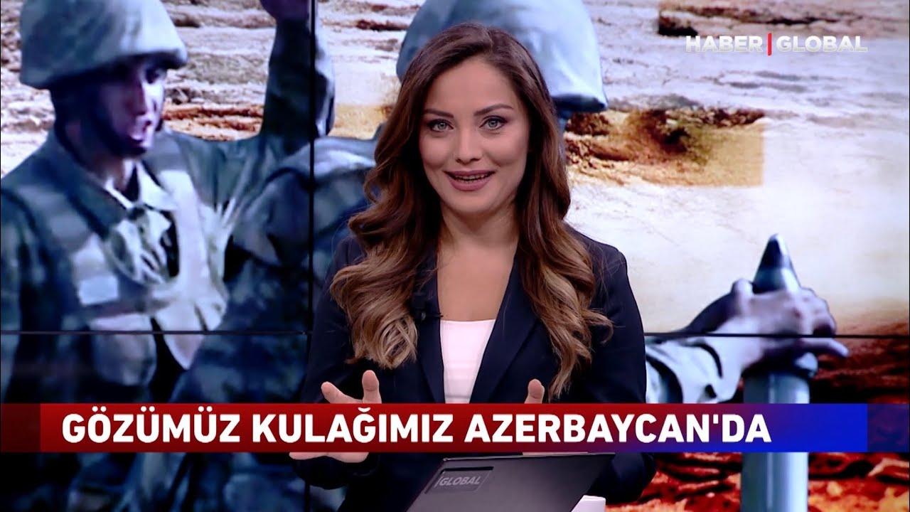 Azerbaycan'ın Ünlü Spikeri Yıllar Sonra Ekranda! Haber Global'de Karabağ Savaşını Anlattı