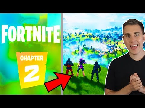 FORTNITE CHAPTER 2 LIVE FIRST TIME PLAYTHROUGH!