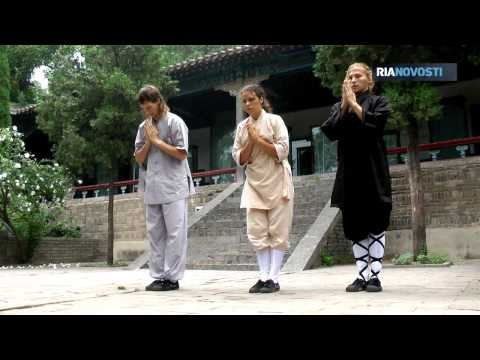 Life in Shaolin: Meditation and Kung-fu Training for Russian Guests