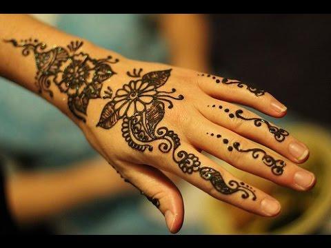 Como Hacer Tatuajes De Henna Tutorial Youtube
