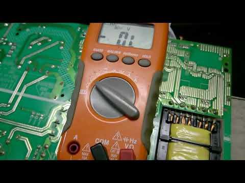 acionamento manual fonte lcd led LC4051 FDA STI com defeito no PFC
