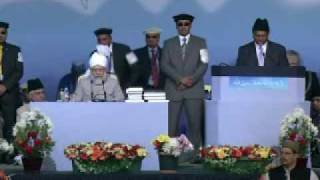 Jalsa Salana UK 2009 - Day 2 : VIP Speeches - Part 1 (English)
