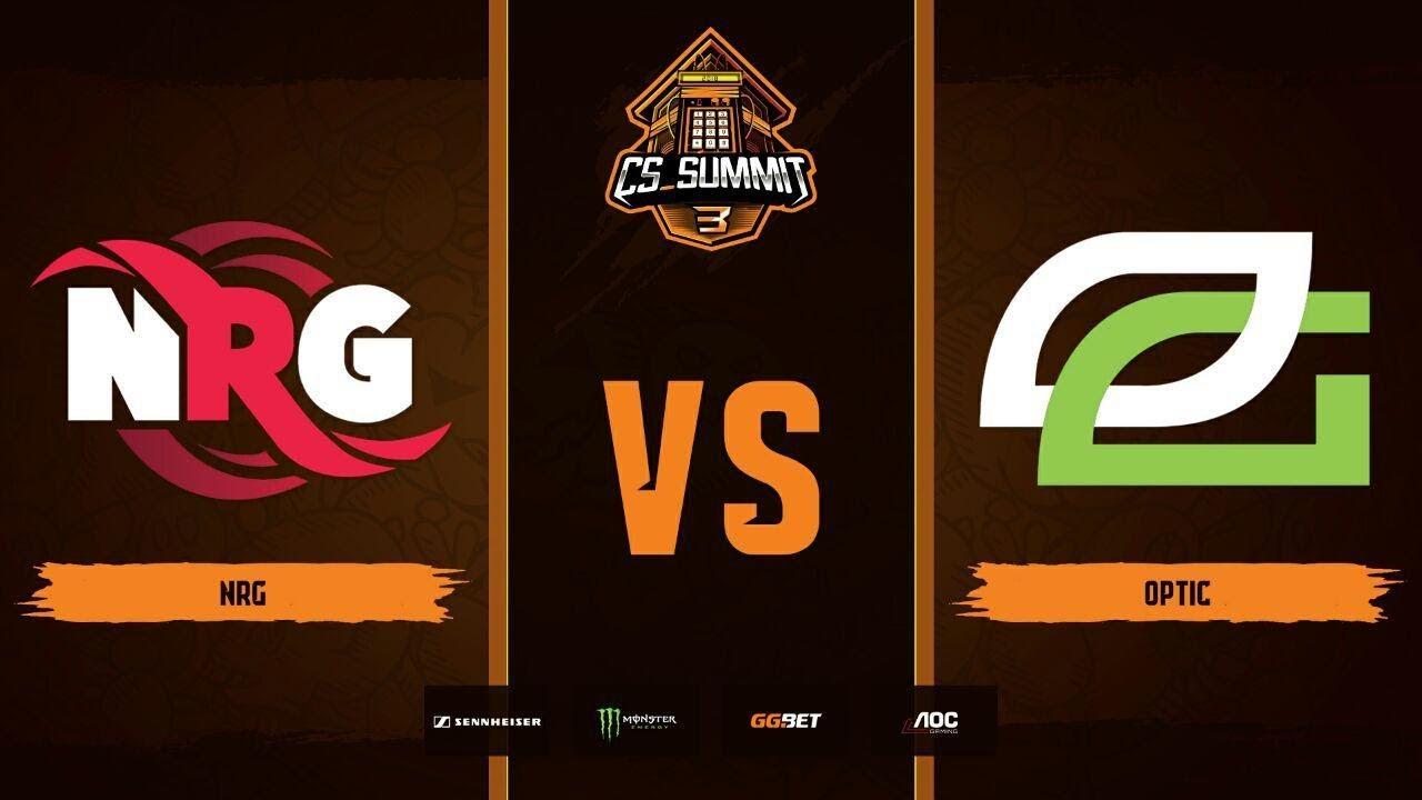 NRG vs OpTic, map 1 nuke, Grand Final, cs_summit 3