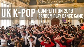 KPOP RPD GAME in The UK K-POP Competition 2019