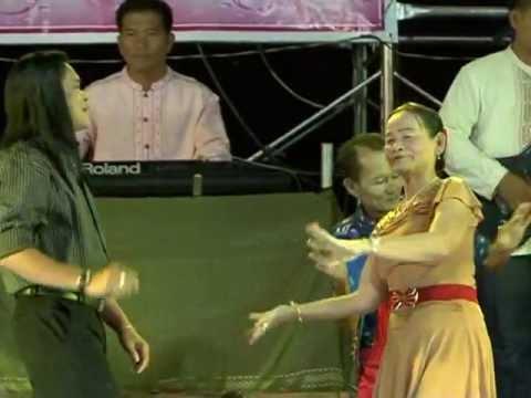 ลำเต้ยชุด คู่มันส์หมากกระจาย ลำโดย ทองแปน พันบุปผา สายยน  จิตรธรรม