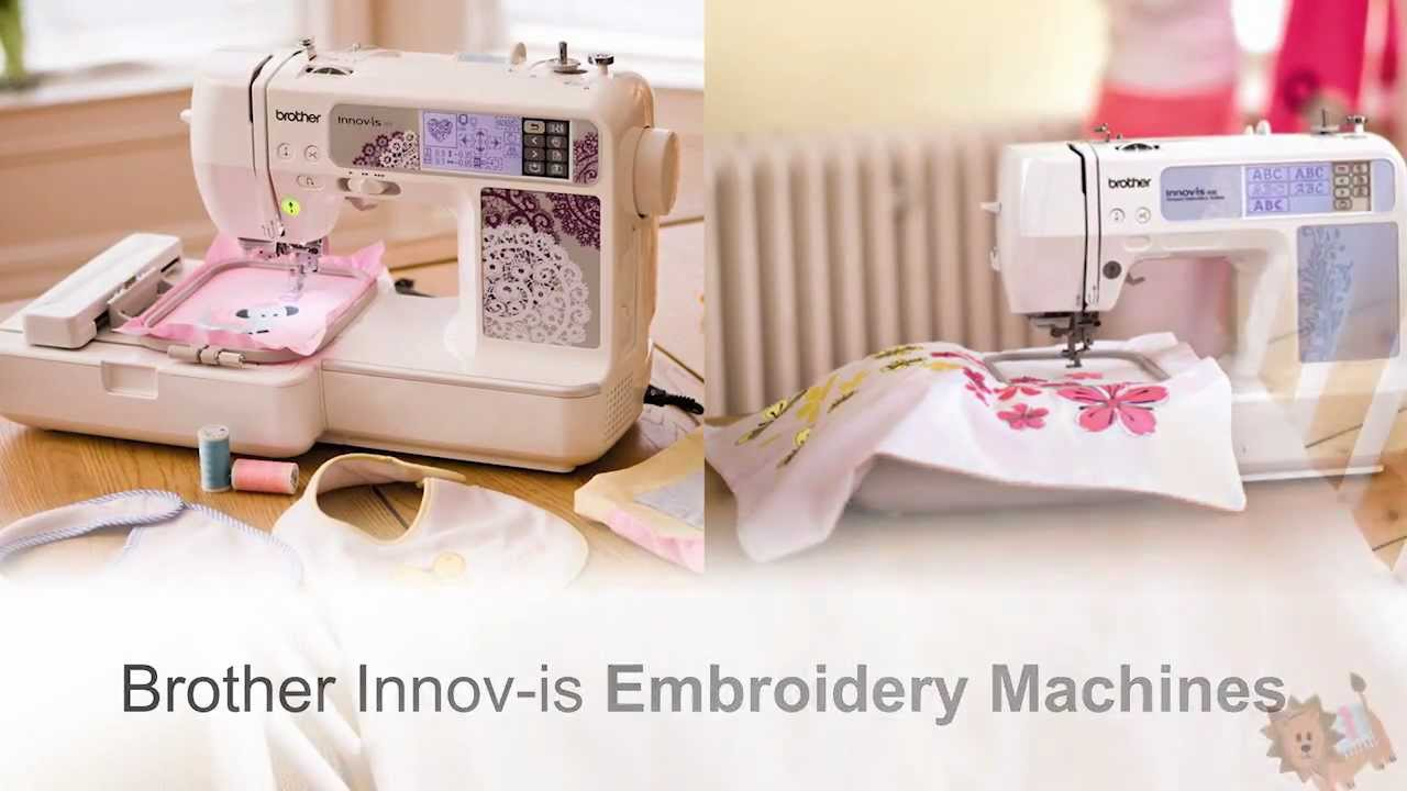 3 Hoops for Brother Innov-ís NV 950D Embroidery Machine