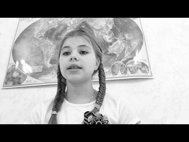Изображение предпросмотра прочтения – СофияГай читает произведение «Журавли» Р.Г.Гамзатова