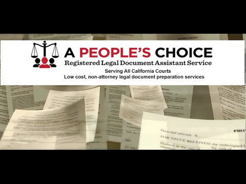 California Legal Document Service Ventura County Divorce - Legal document preparation services