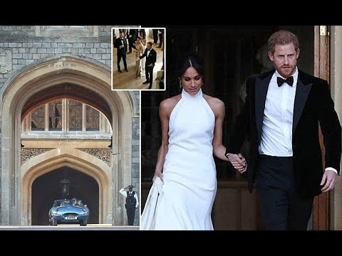 Inside Harry and Meghan's wedding reception hosted by Prince Charles - 247 News